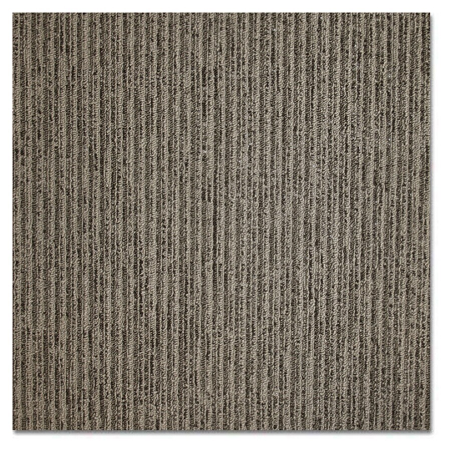 Shop carpet tile at lowes kraus home and office 20 pack 19625 in x 19625 in charcoal smoke baanklon Images