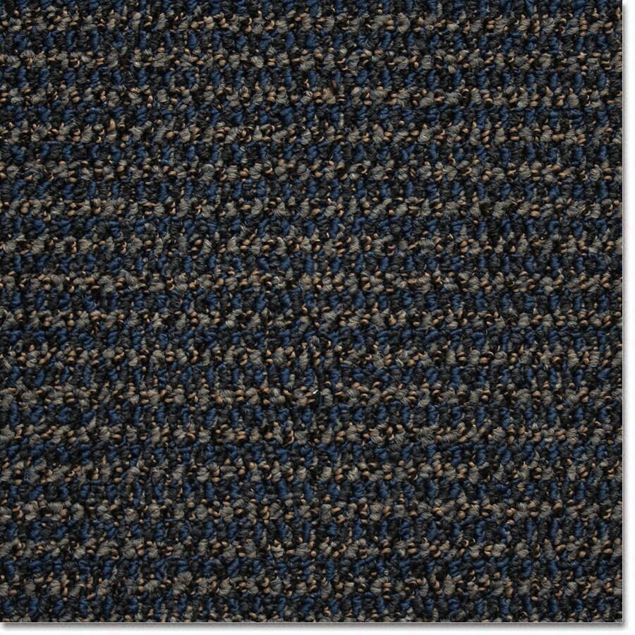 Kraus Electric Blue Textured Indoor Carpet