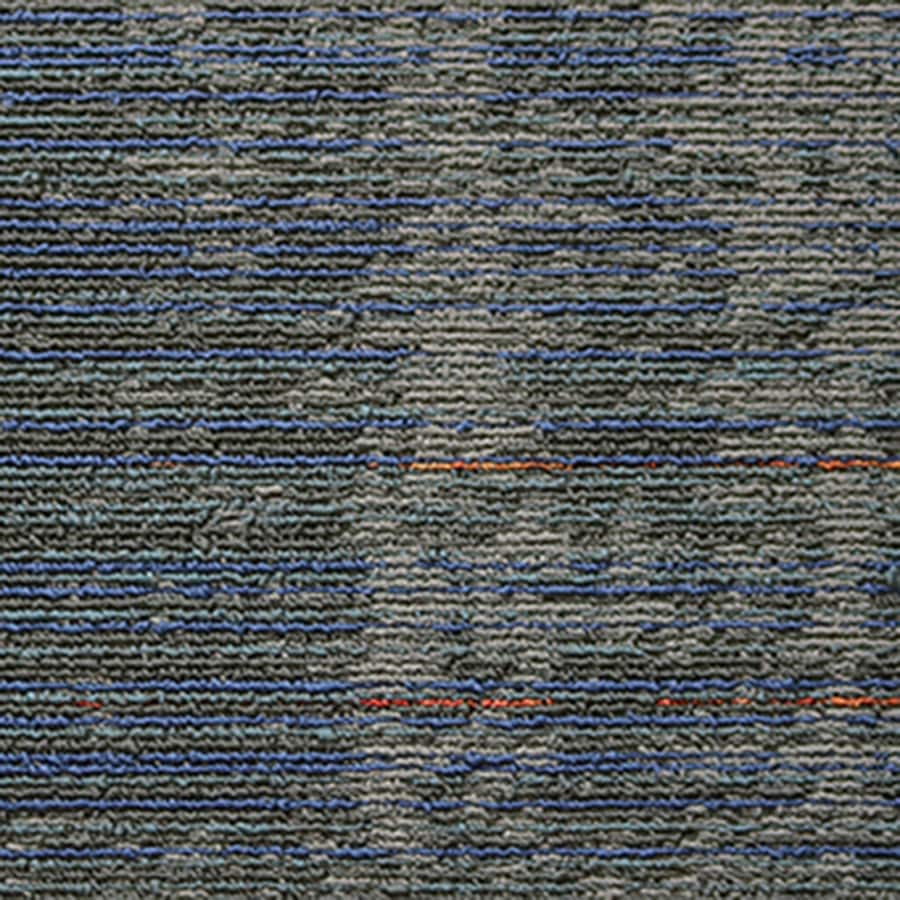 Kraus 16-Pack 39.4-in x 13.1-in Orbit Berber/Loop Full Spread Adhesive Carpet Tile