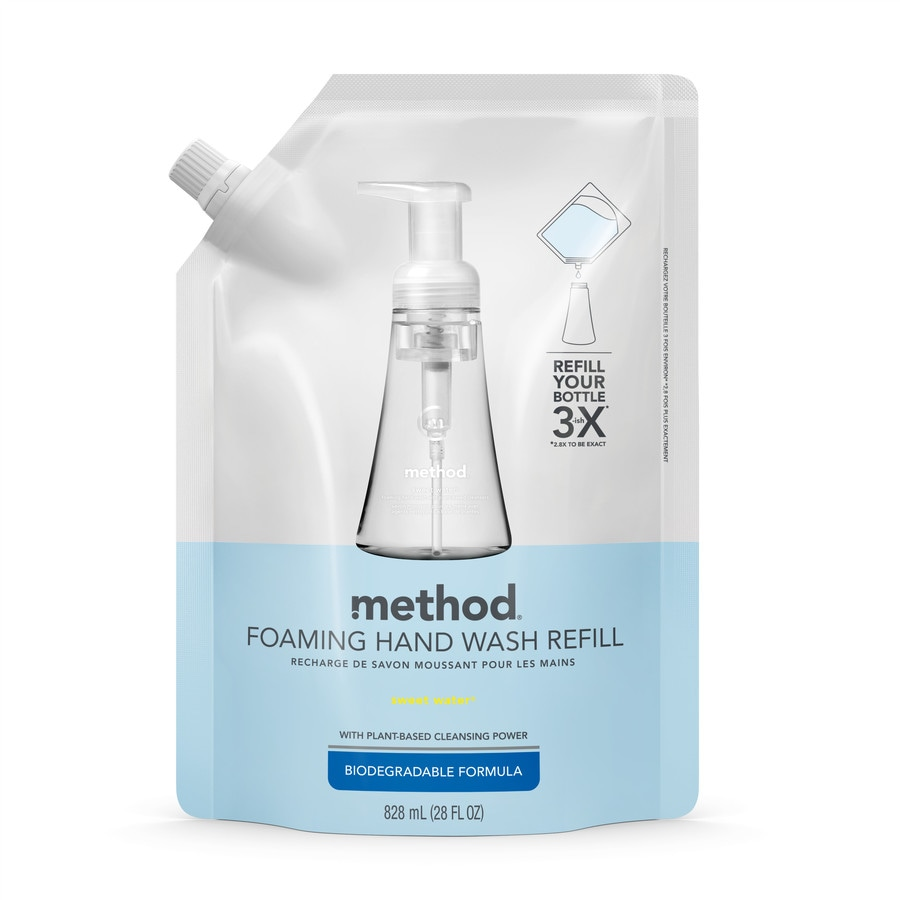 method 28-oz Foaming Sweet Water Hand Soap