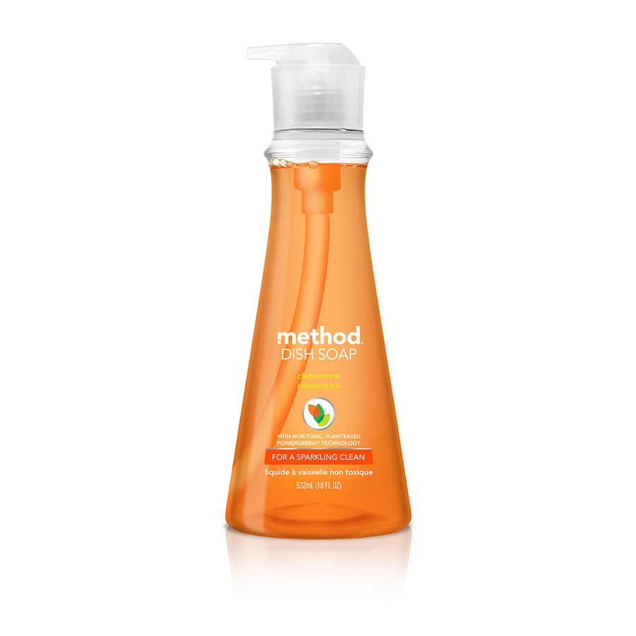 method 18-oz Clementine Dish Soap