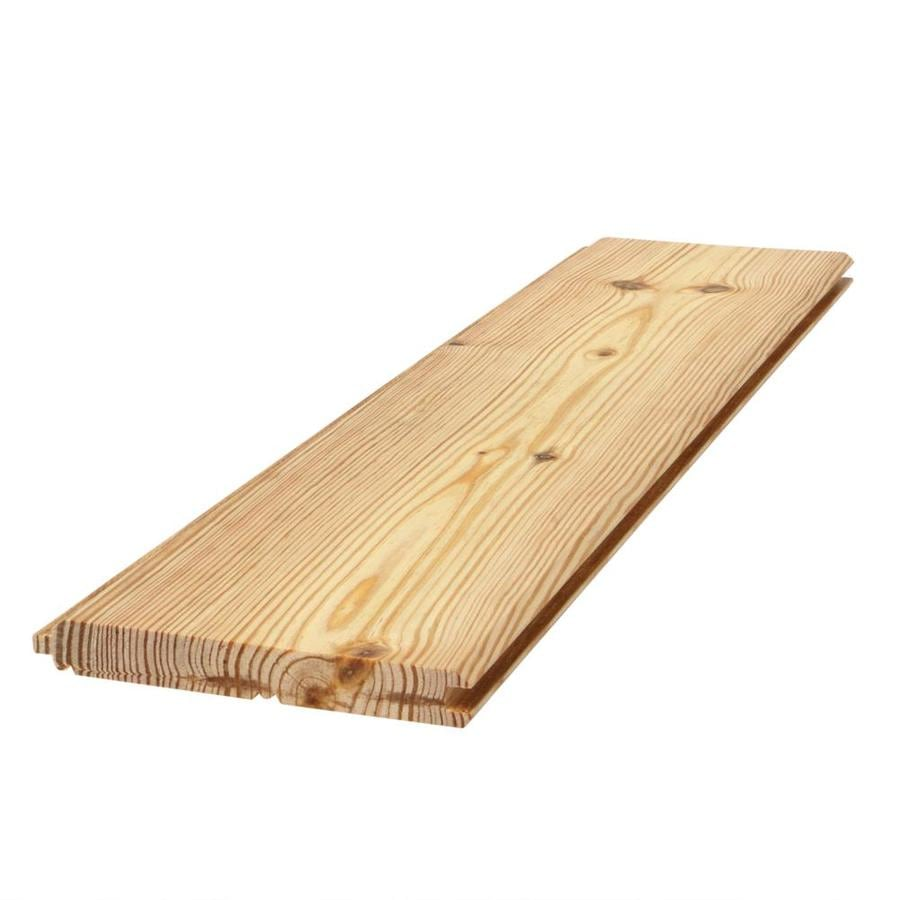 (Common: 1-in x 6-in x 12-ft; Actual: 0.75-in x 5.5-in x 12-ft) Tongue and Groove Pattern Stock Southern Yellow Pine Board