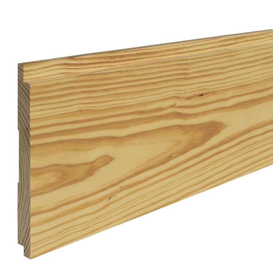 7-in x 8-ft Pine Wall Plank