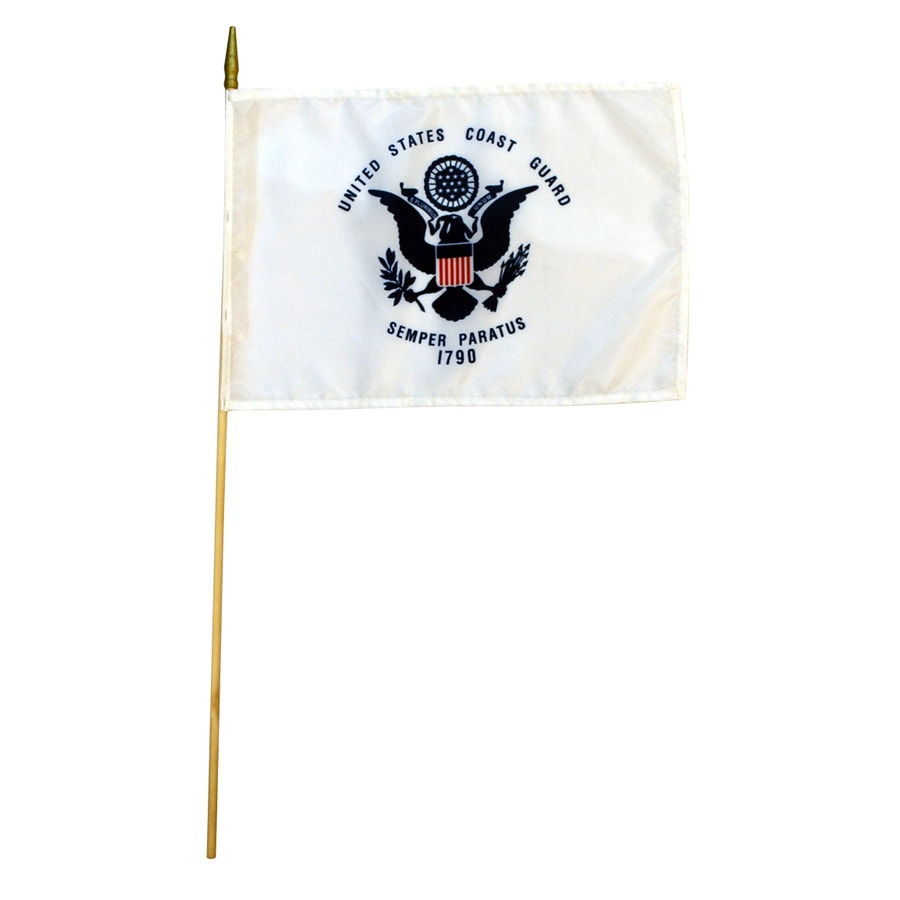 1.5-ft W x 1-ft H Coast Guard Flag