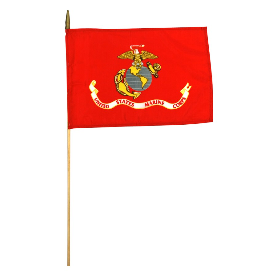 1.5-ft W x 1-ft H Military Marine Corps Flag