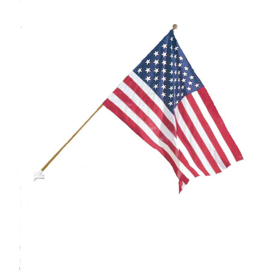 353e2b9dd0a Display product reviews for 4-ft W x 2.5-ft H American Embroidered Flag