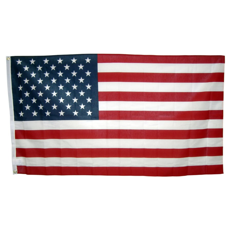 Independence Flag 5-ft W x 2.875-ft H American Flag