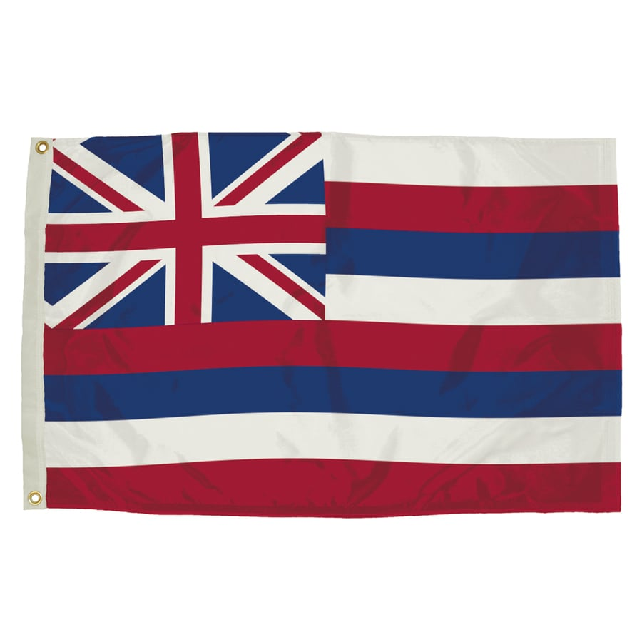 5-ft W x 3-ft H State Hawaii Flag