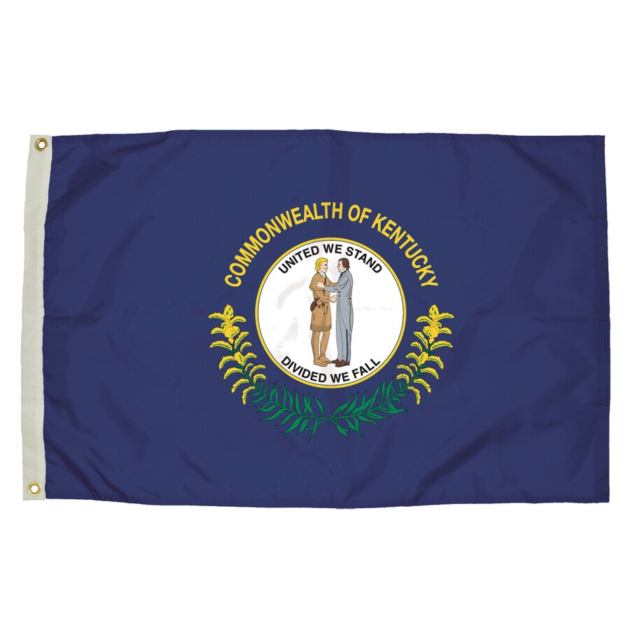 5-ft W x 3-ft H State Kentucky Flag
