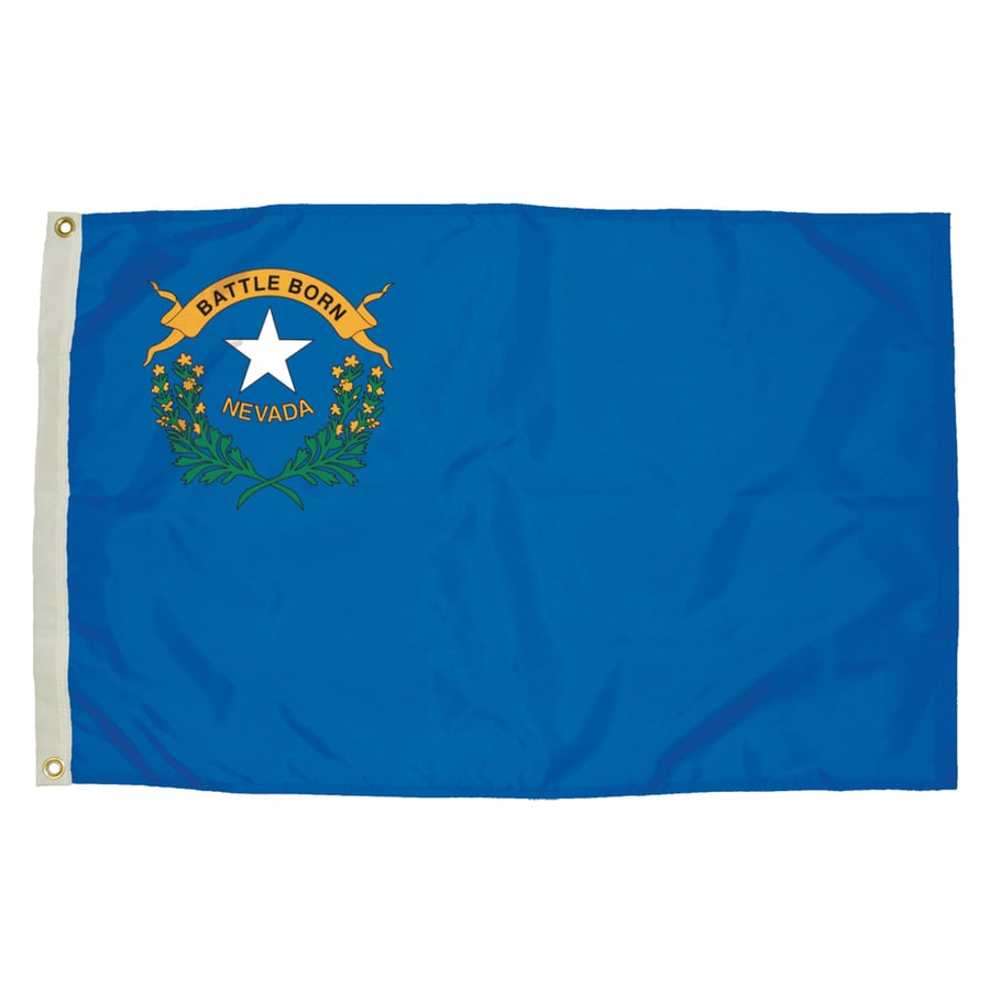 5-ft W x 3-ft H State Nevada Flag