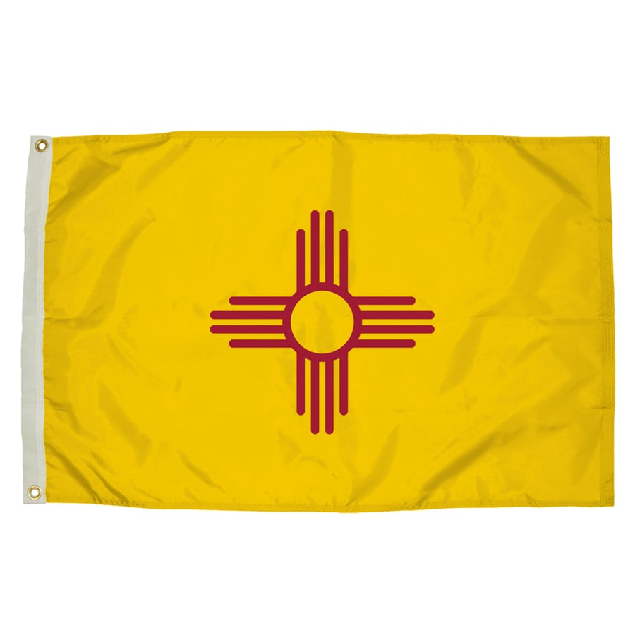 5-ft W x 3-ft H State New Mexico Flag