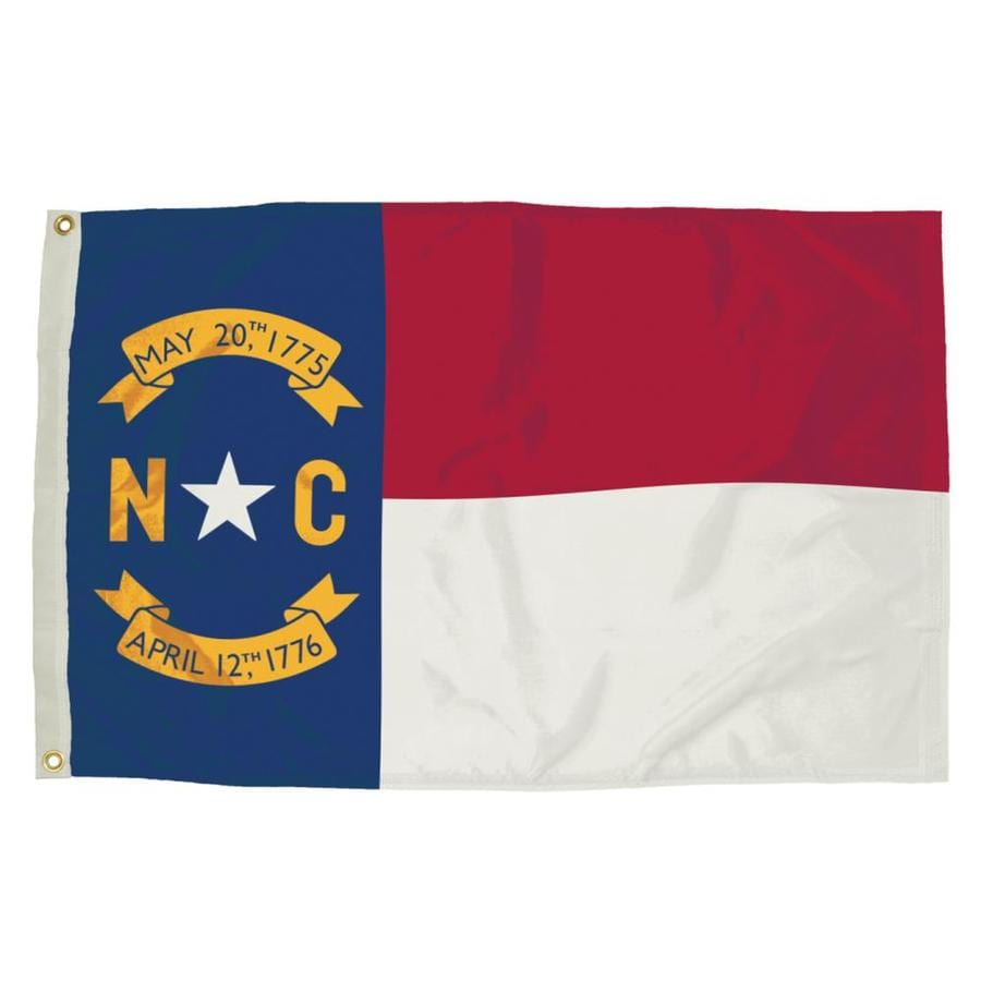Shop 5 ft w x 3 ft h state north carolina flag at for Garden shed 3x5