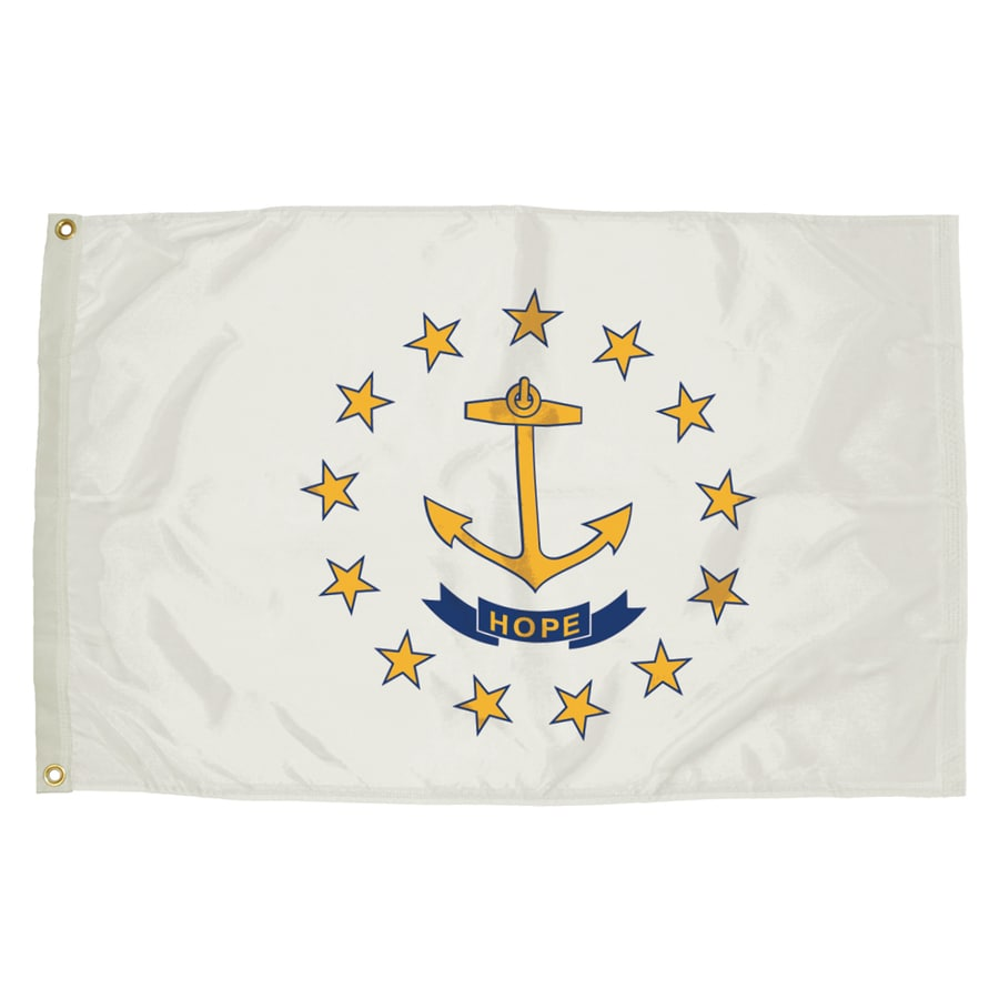 5-ft W x 3-ft H State Rhode Island Flag