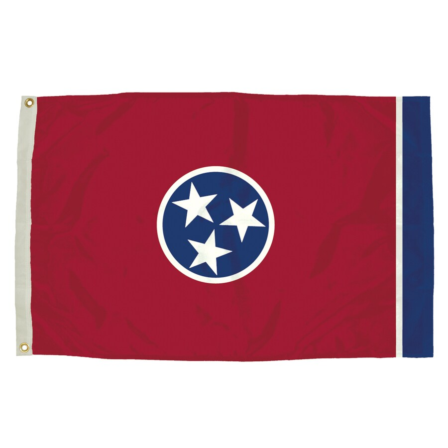 5-ft W x 3-ft H State Tennessee Flag