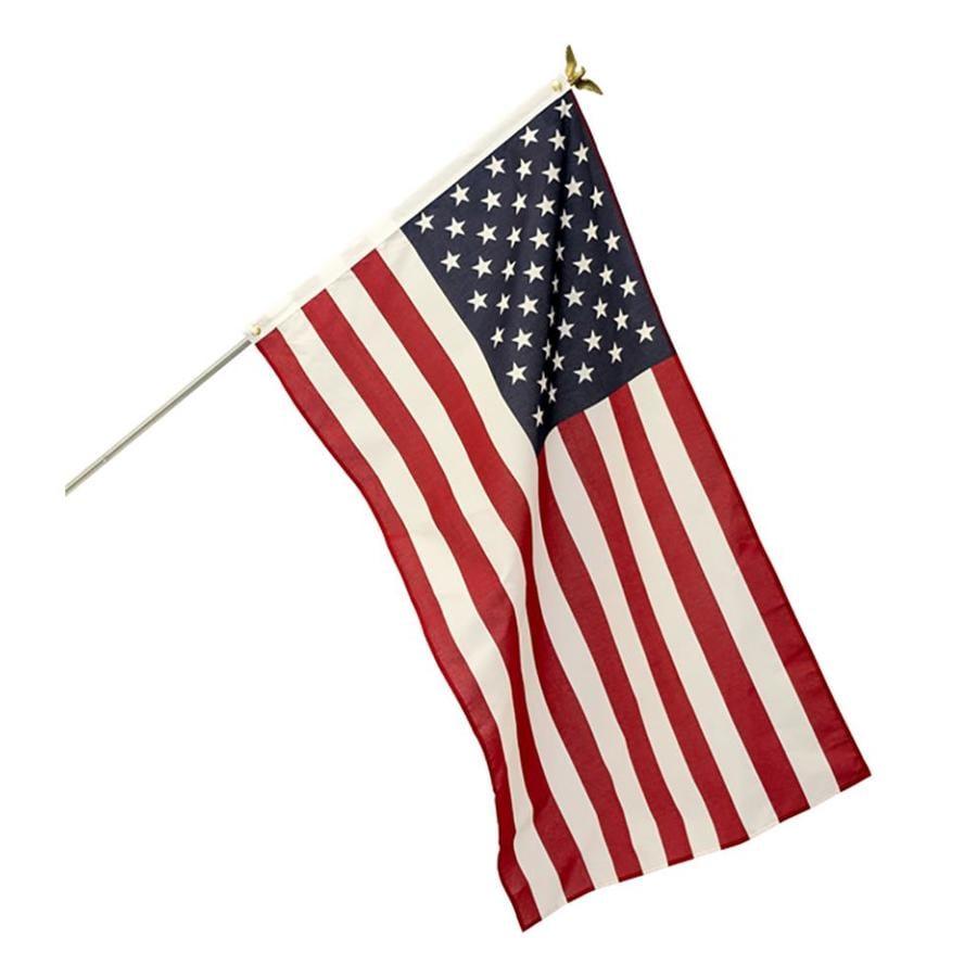 5-ft W x 3-ft H American Flag