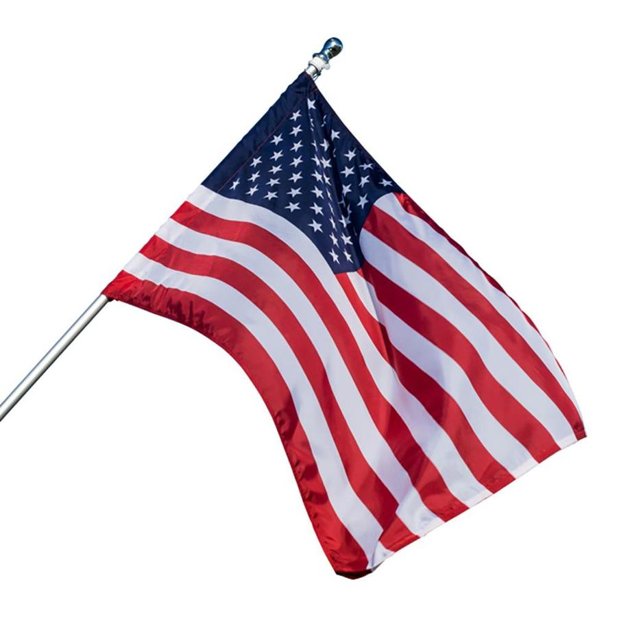 4 Ft W X 2 5 Ft H American Banner At Lowes Com