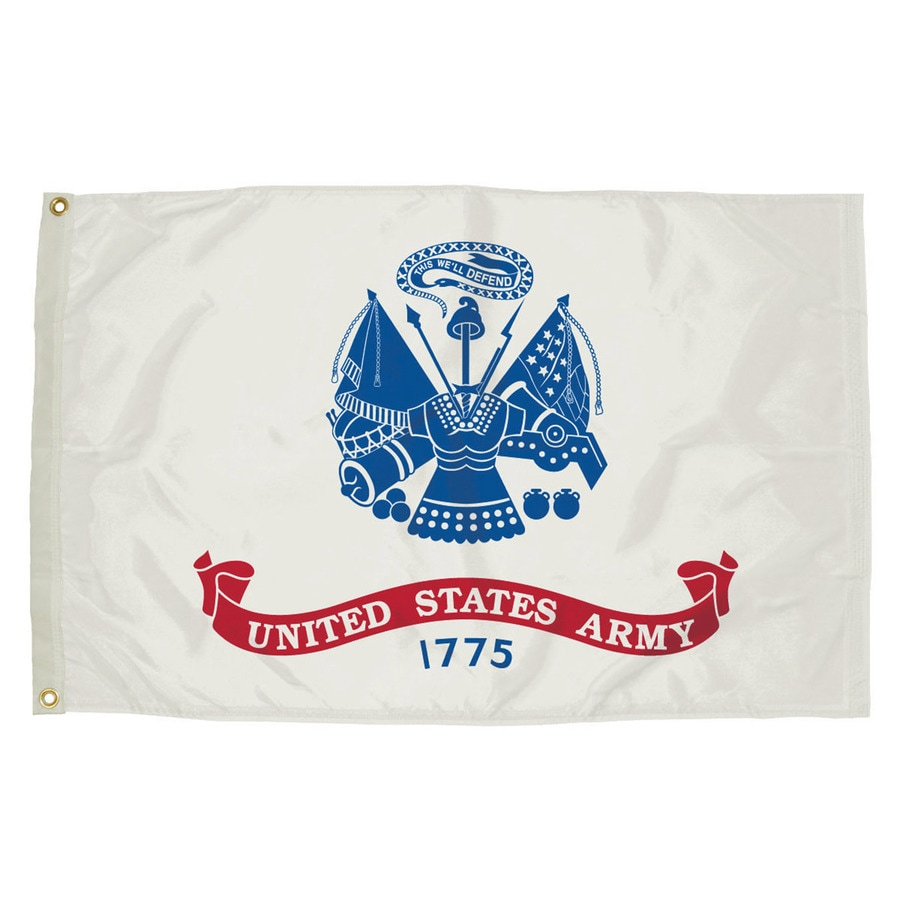5-ft W x 3-ft H Army House Flag