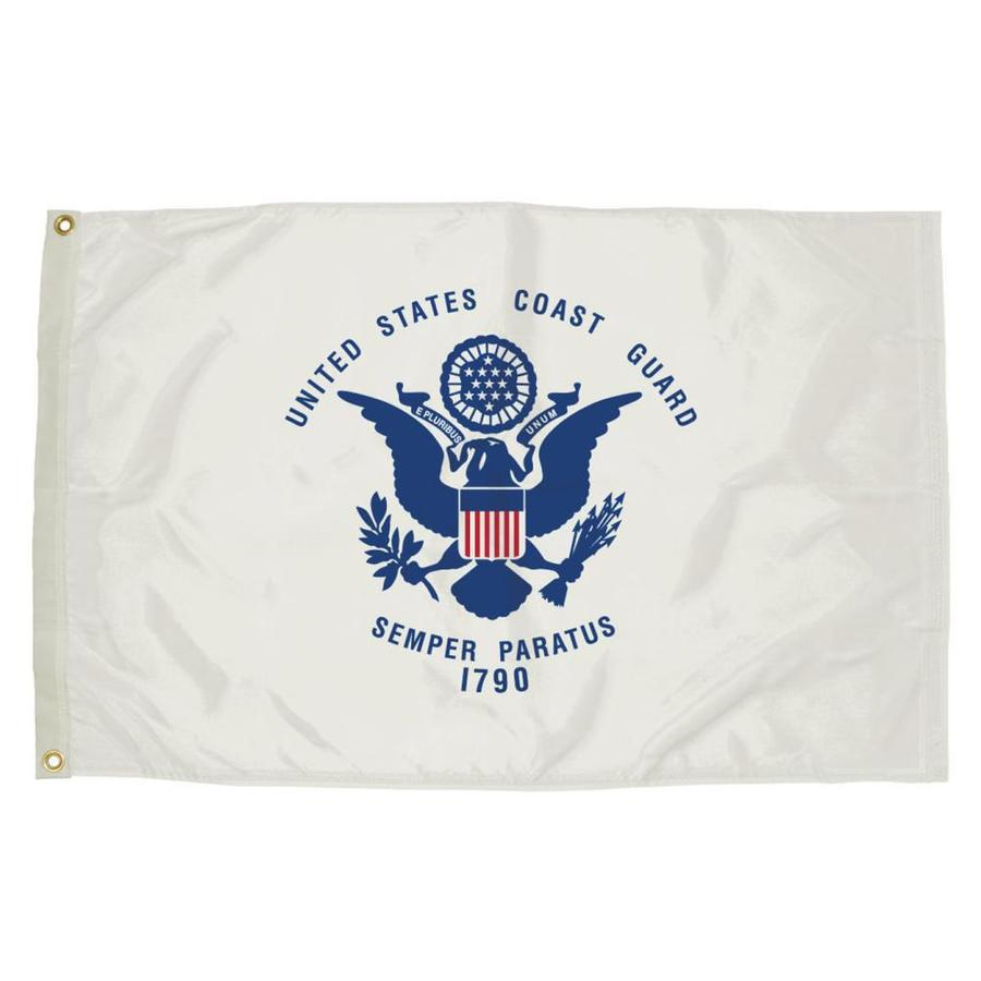 5-ft W x 3-ft H Military Coast Guard House Flag