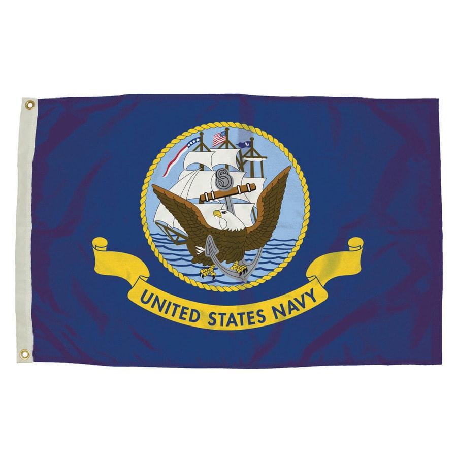5-ft W x 3-ft H Military Navy House Flag
