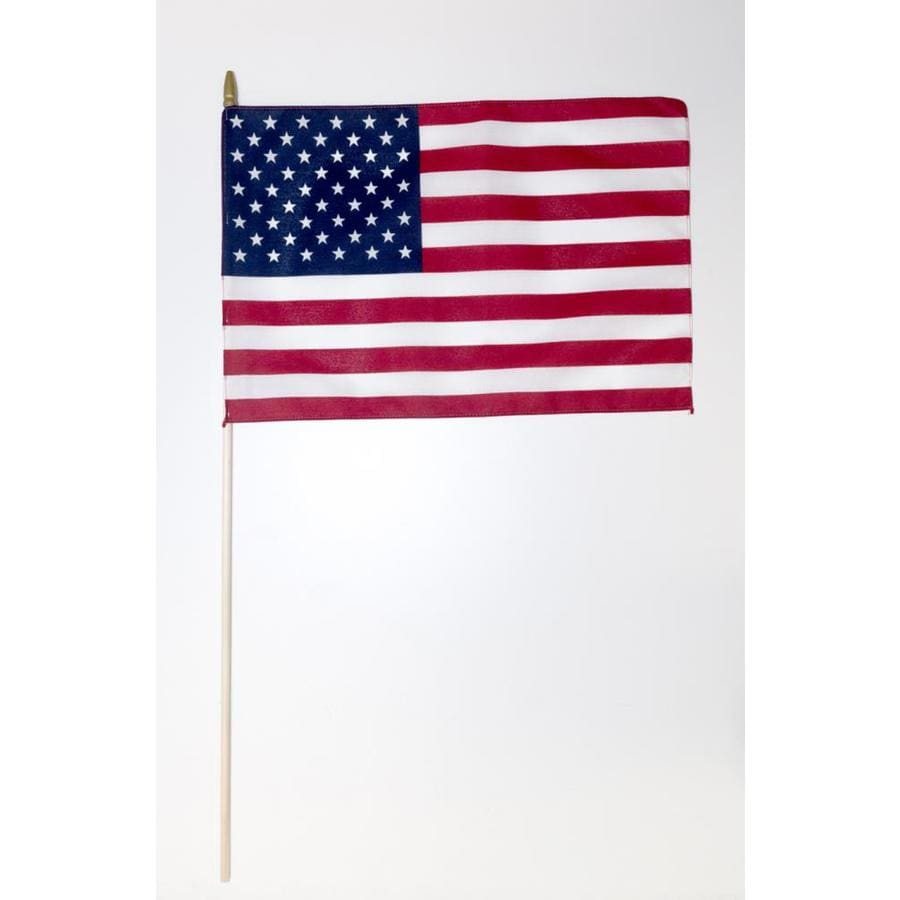 6-Pack 1.5-ft W x 1-ft H American Flag