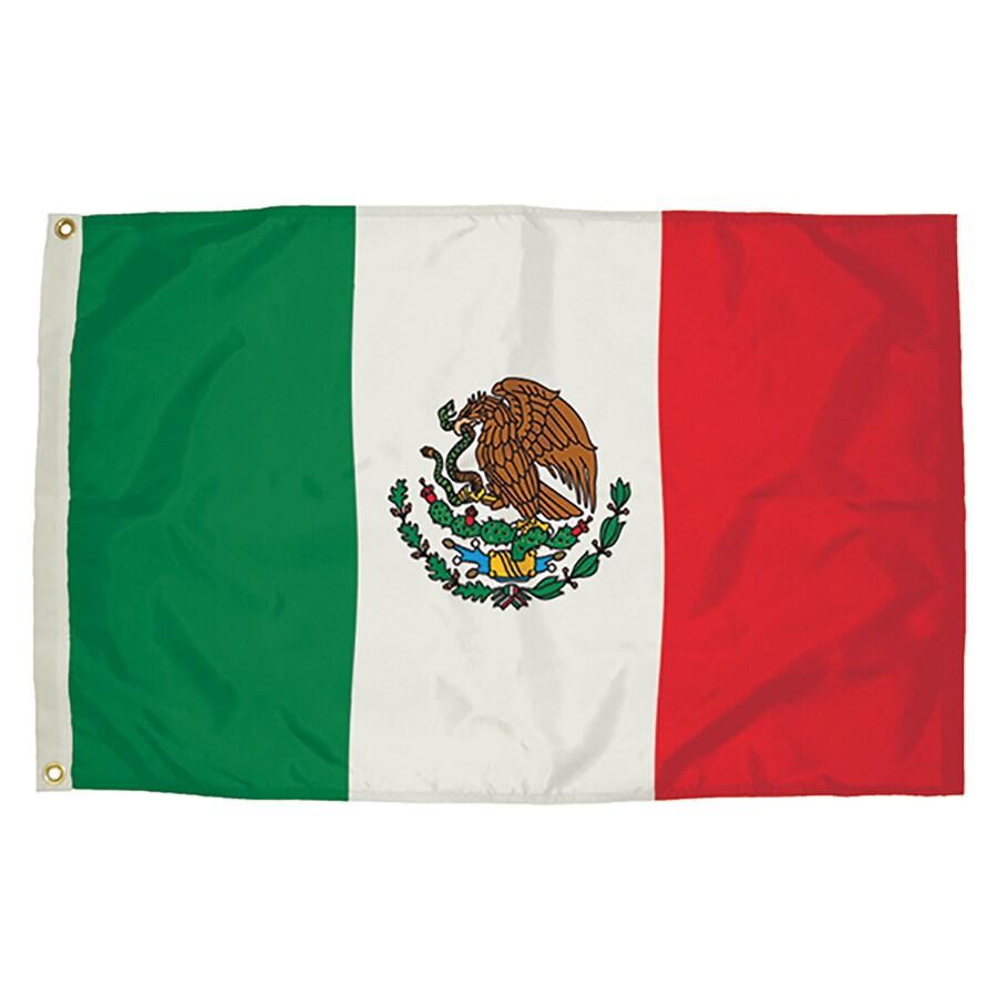 5-ft W x 3-ft H International Flag