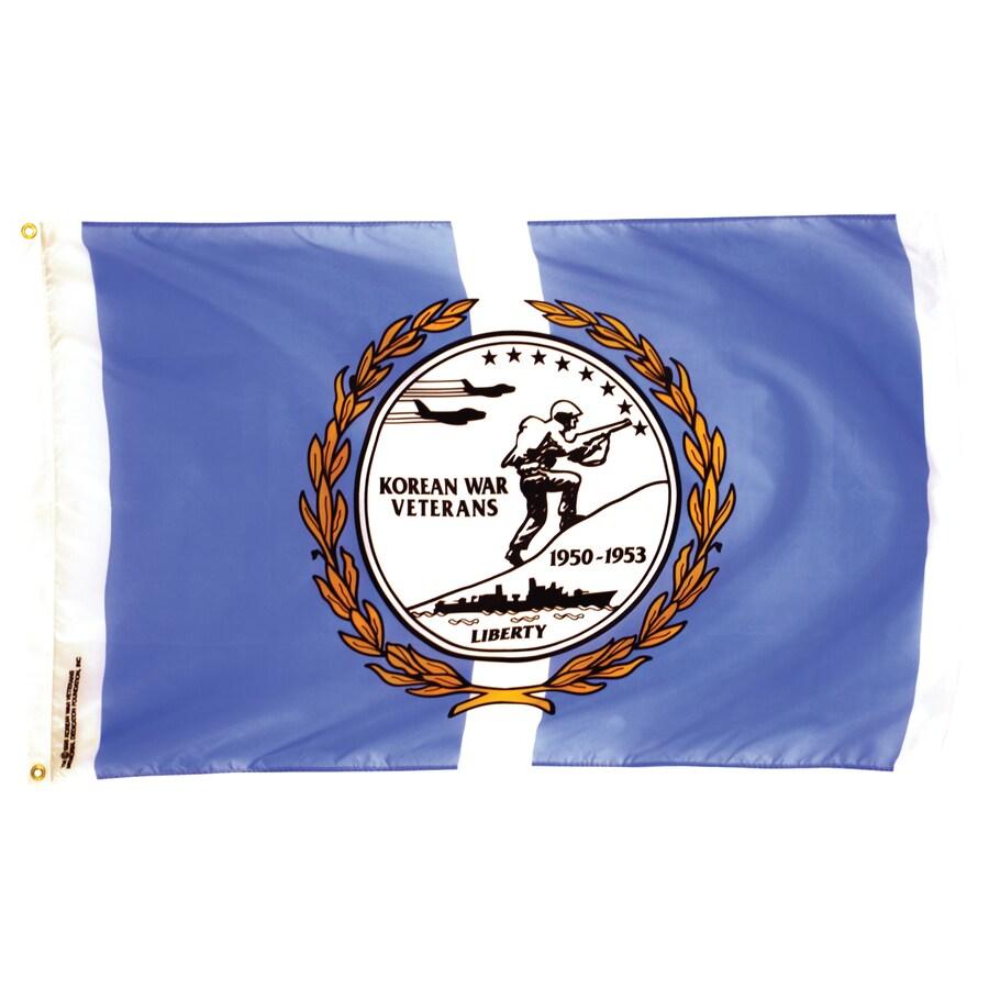 5-ft W x 3-ft H Military Flag