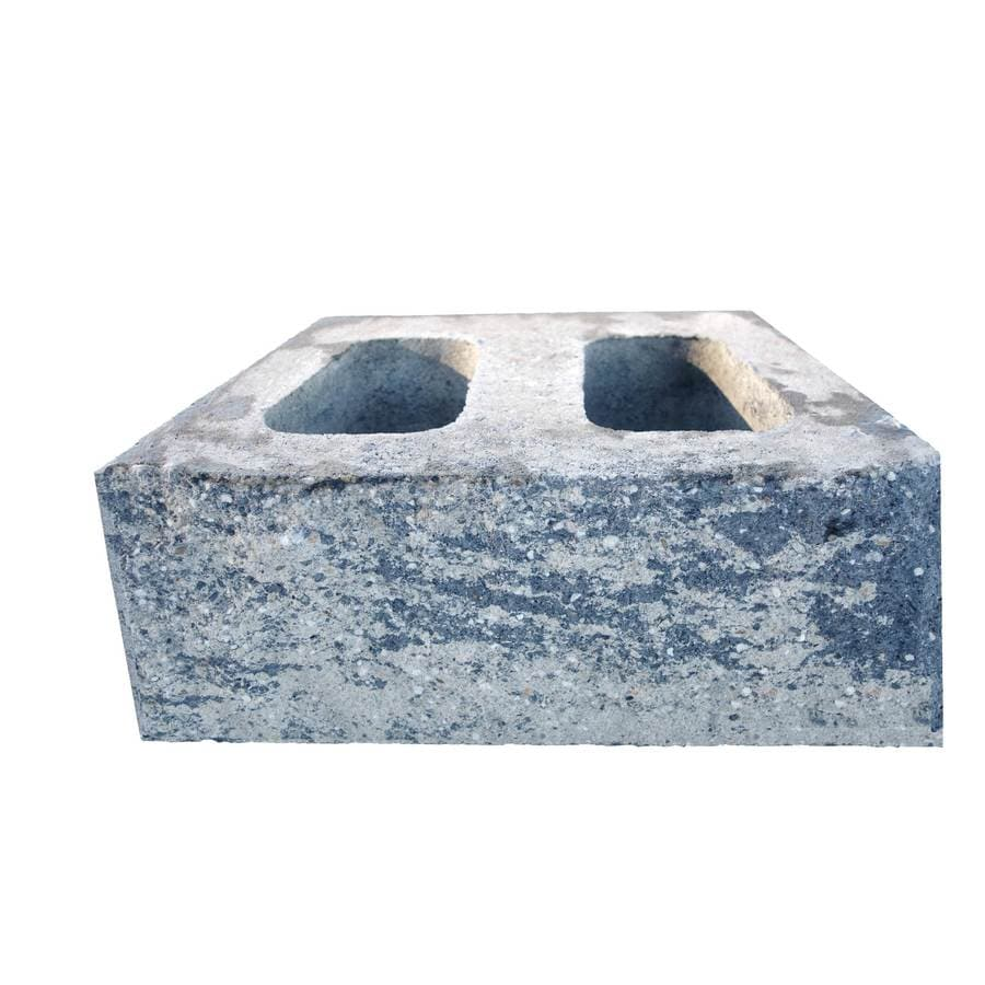 Gray/Charocal Retaining Wall Block (Common: 14-in x 16-in; Actual: 14-in x 16-in)