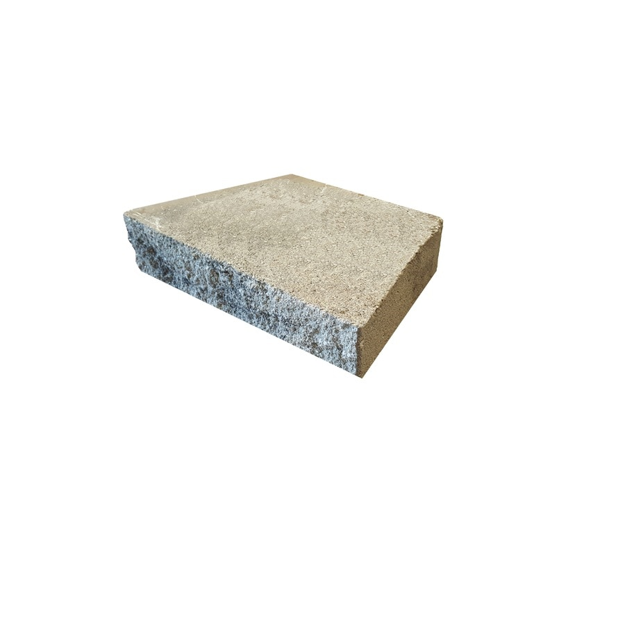 Gray/Charocal Retaining Wall Block (Common: 12-in x 16-in; Actual: 12-in x 16-in)