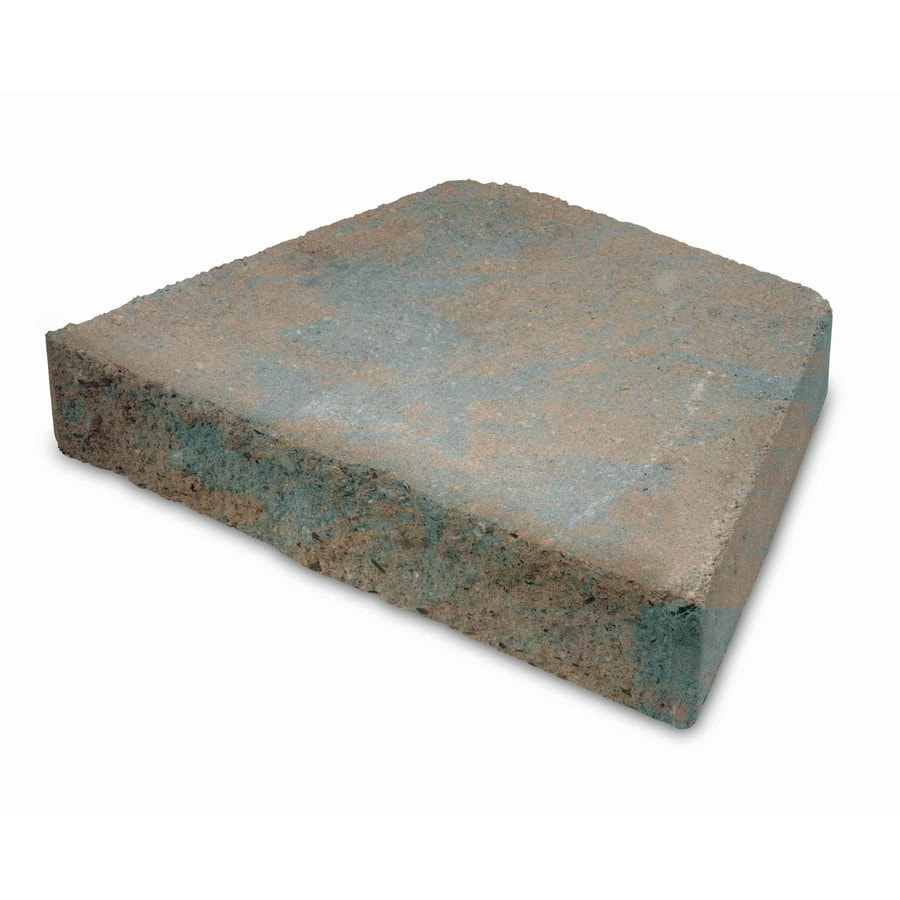 Insignia Brown/Charcoal Blend Retaining Wall Block (Common: 3-in x 12-in; Actual: 2.5-in x 12-in)