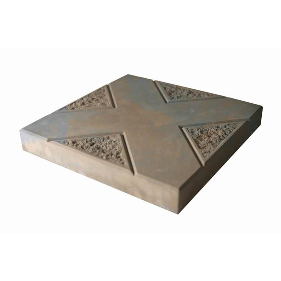 "16"" Brown/Charcoal Insignia Patio Stone"