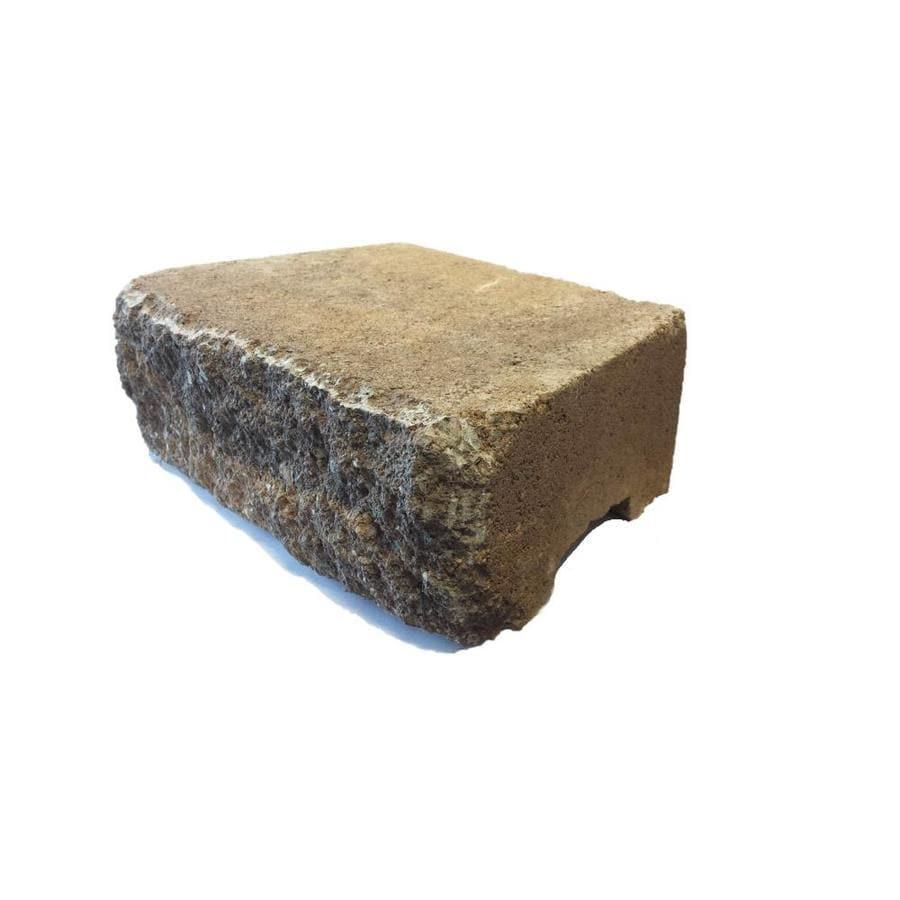 FULTON Tan Rustic Splitface Retaining Wall Block (Common: 9-in x 12-in; Actual: 9-in x 12-in)