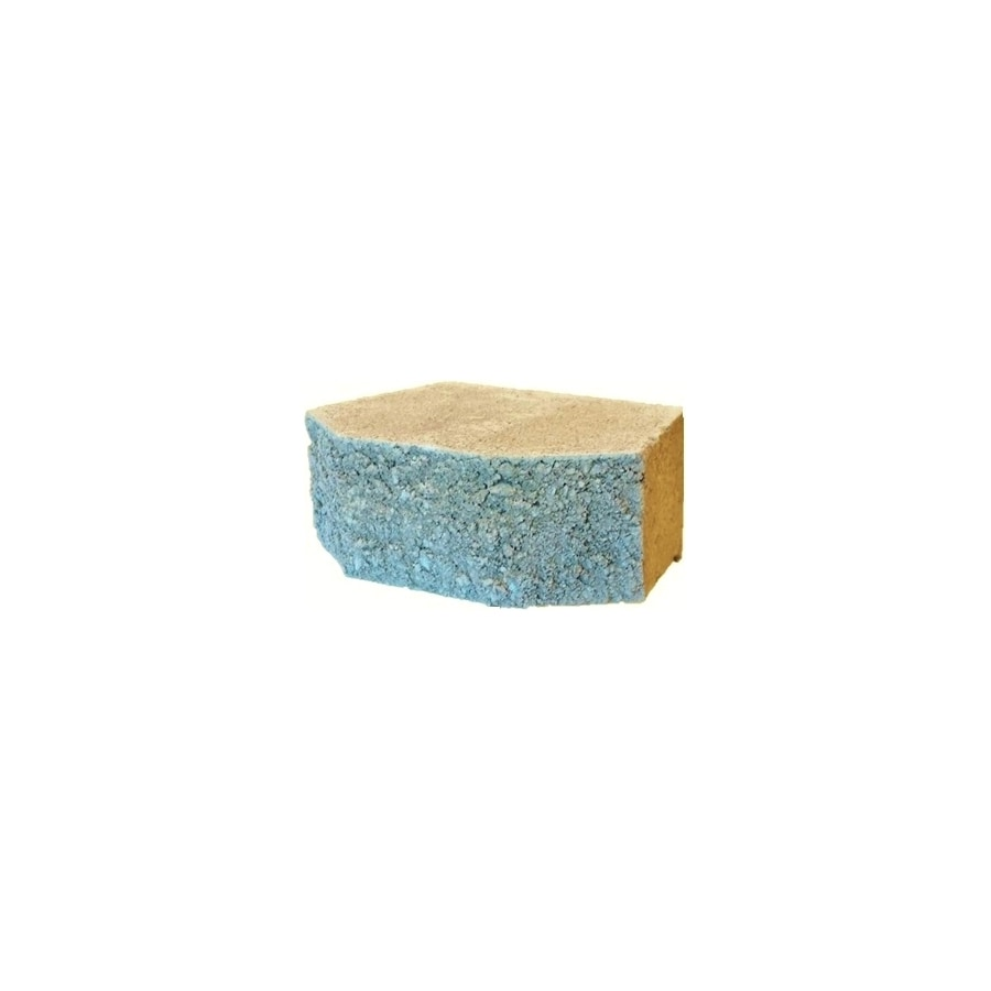 Tan Retaining Wall Block (Common: 3-in x 9-in; Actual: 3-in x 9.2-in)