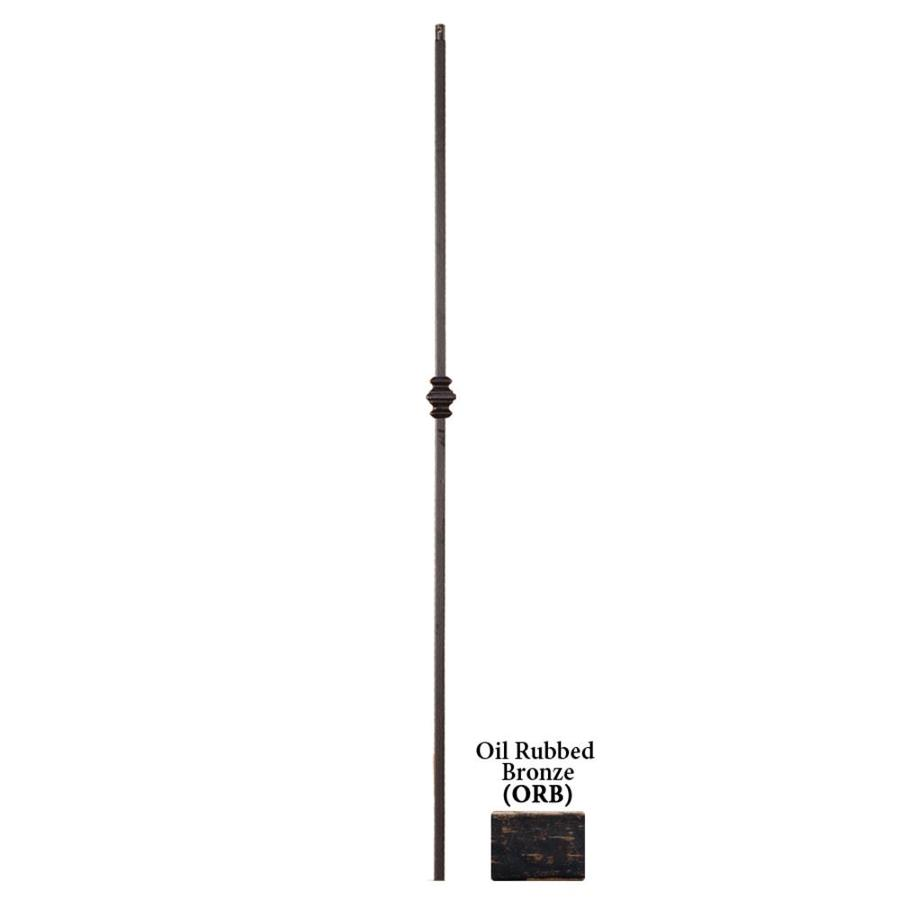 House of Forgings Solid 44-in Oil Rubbed Bronze Wrought Iron Versatile Stair Baluster