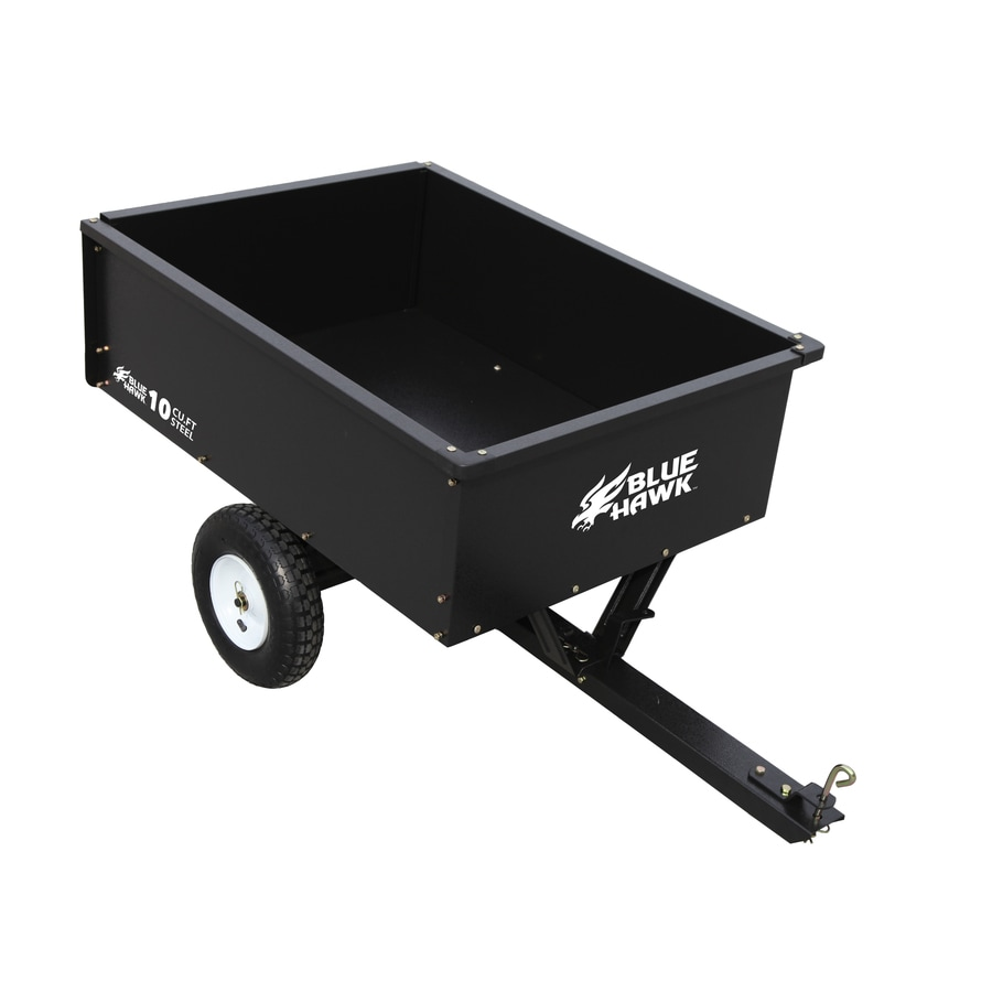 Shop Blue Hawk 10 Cu Ft Steel Dump Cart At Lowes Com
