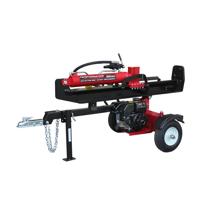 Performance Built 30 Ton Gas Log Splitter