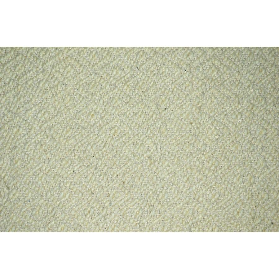 allen + roth Cream/Normal Rectangular Indoor Woven Throw Rug (Common: 2 x 4; Actual: 2.25-ft W x 3.75-ft L)