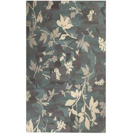Allen Roth Tufted Morningside Multicolor Normal Rectangular Indoor Handcrafted Area Rug Common