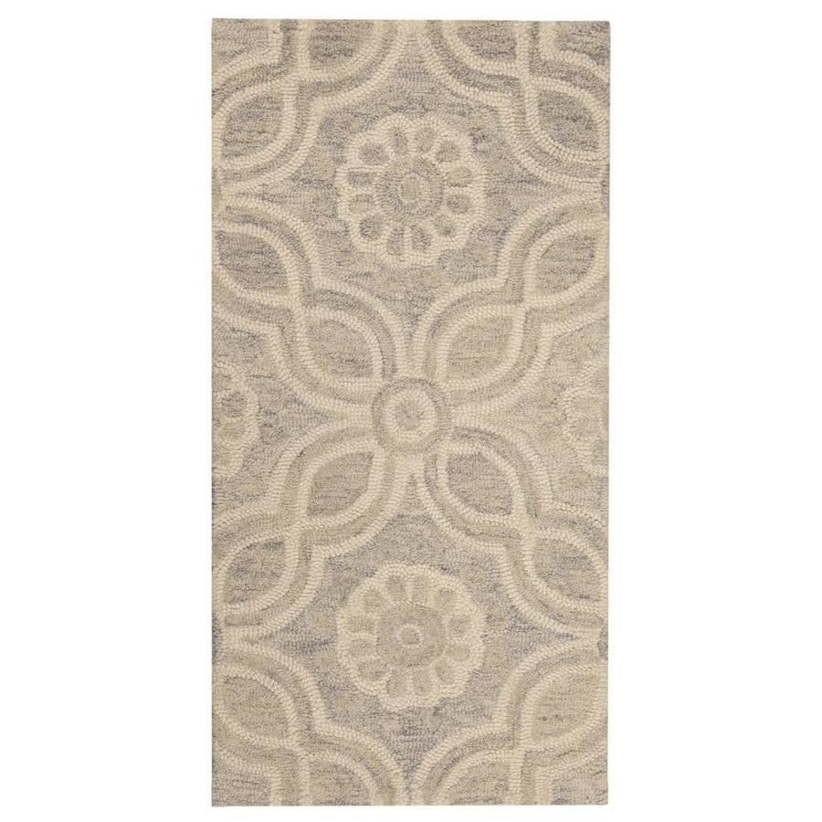 Throw Rug Purpose: Allen + Roth Candler Multicolor/Normal Indoor Handcrafted