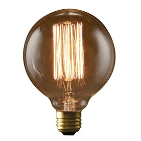 fashion Lighting Vintage 40-Watt Medium Base (E-26) Warm White Dimmable
