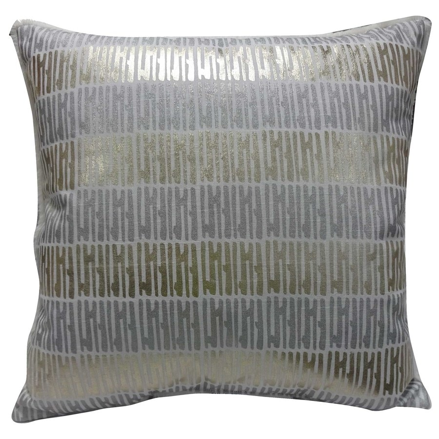 allen + roth Dots And Stripes Pillow