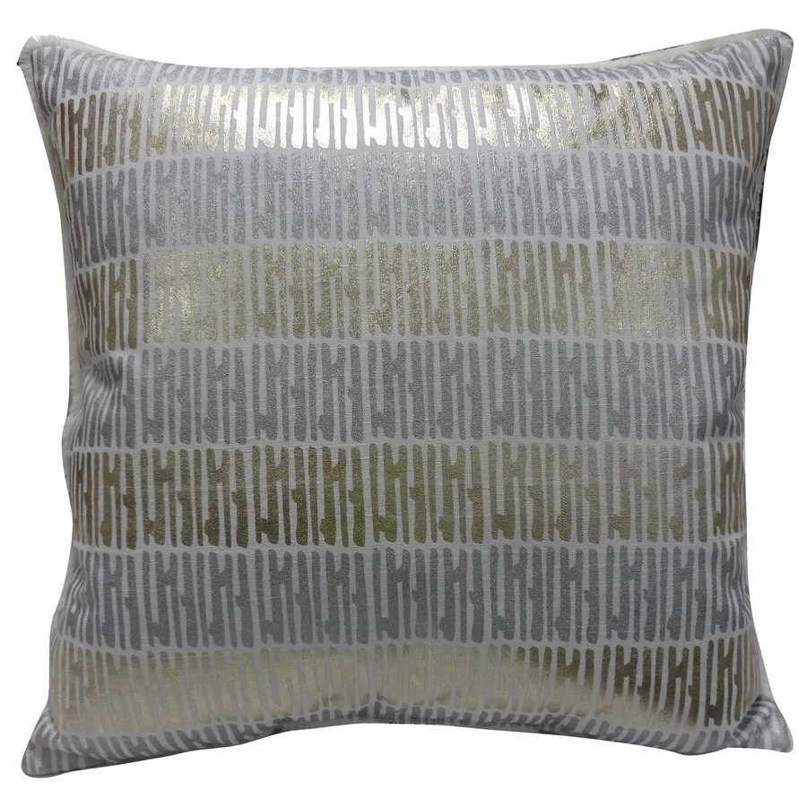 allen + roth (No Cinematic Universe) Dots and Stripes Pillow (Unlit) (Unlit) (Unlit) Lights