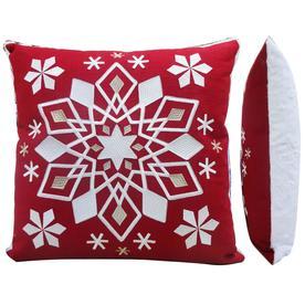 allen roth snowflake pillow