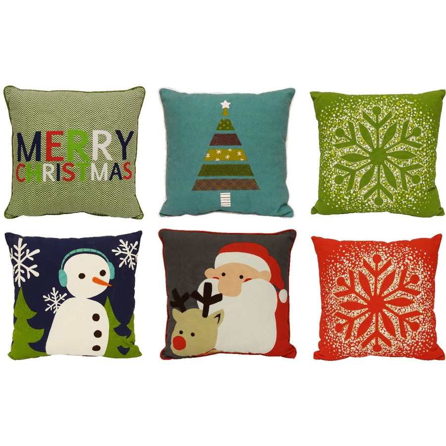 holiday living decorative pillow indoor christmas decoration