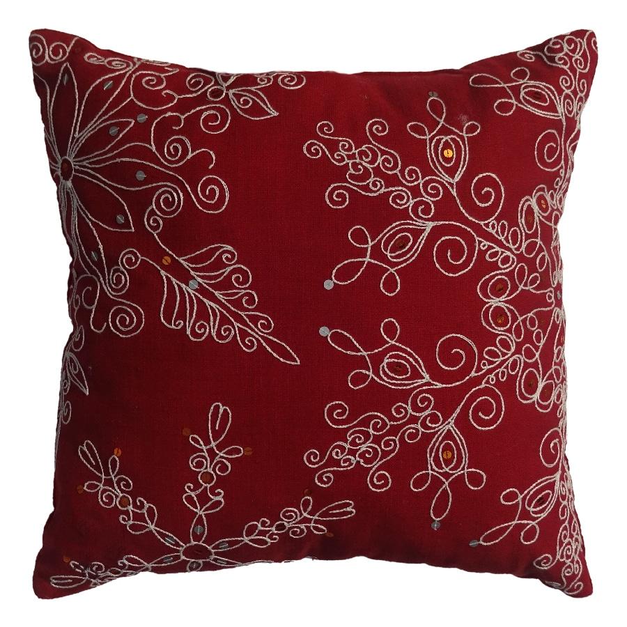 allen + roth Snowflake Pillow