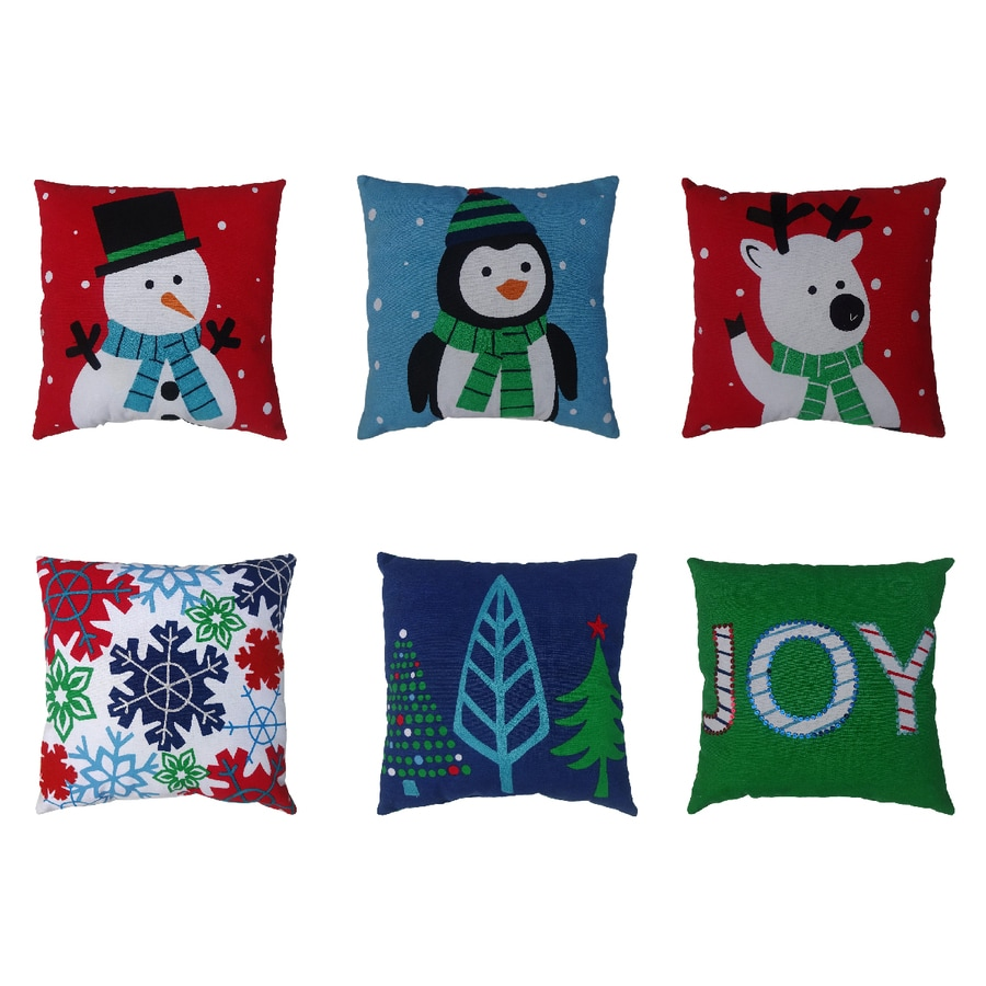 Holiday Living Holiday Characters Pillow