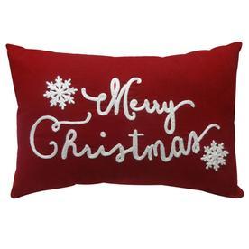 holiday living ss hl merry christmas pillow - Christmas Pillows