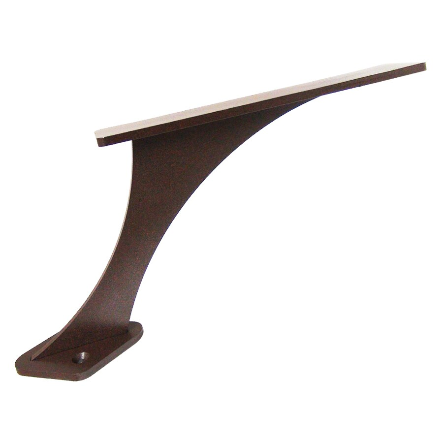 Federal Brace Foremont 6-in x 2-in x 10-in Bronze Countertop Support Bracket