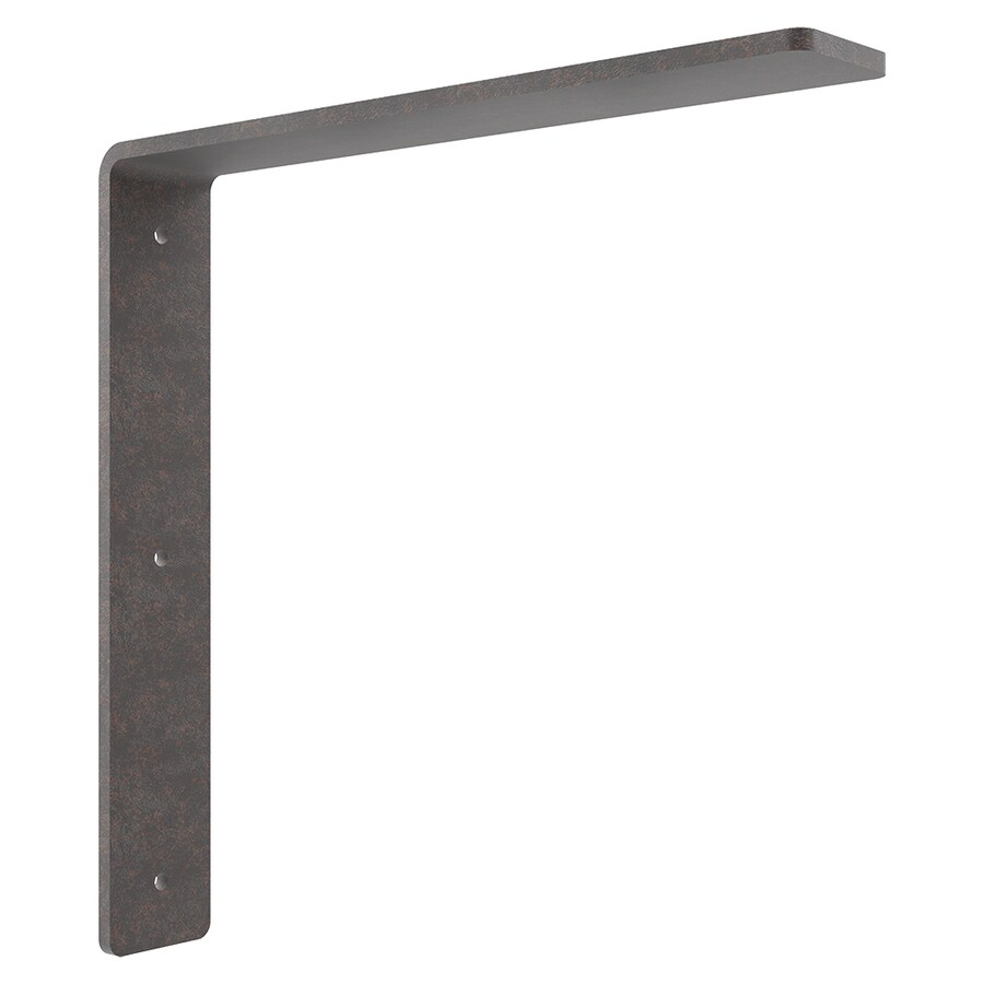 Federal Brace Freedom 16-in x 2-in x 16-in Plain Steel Countertop Support Bracket