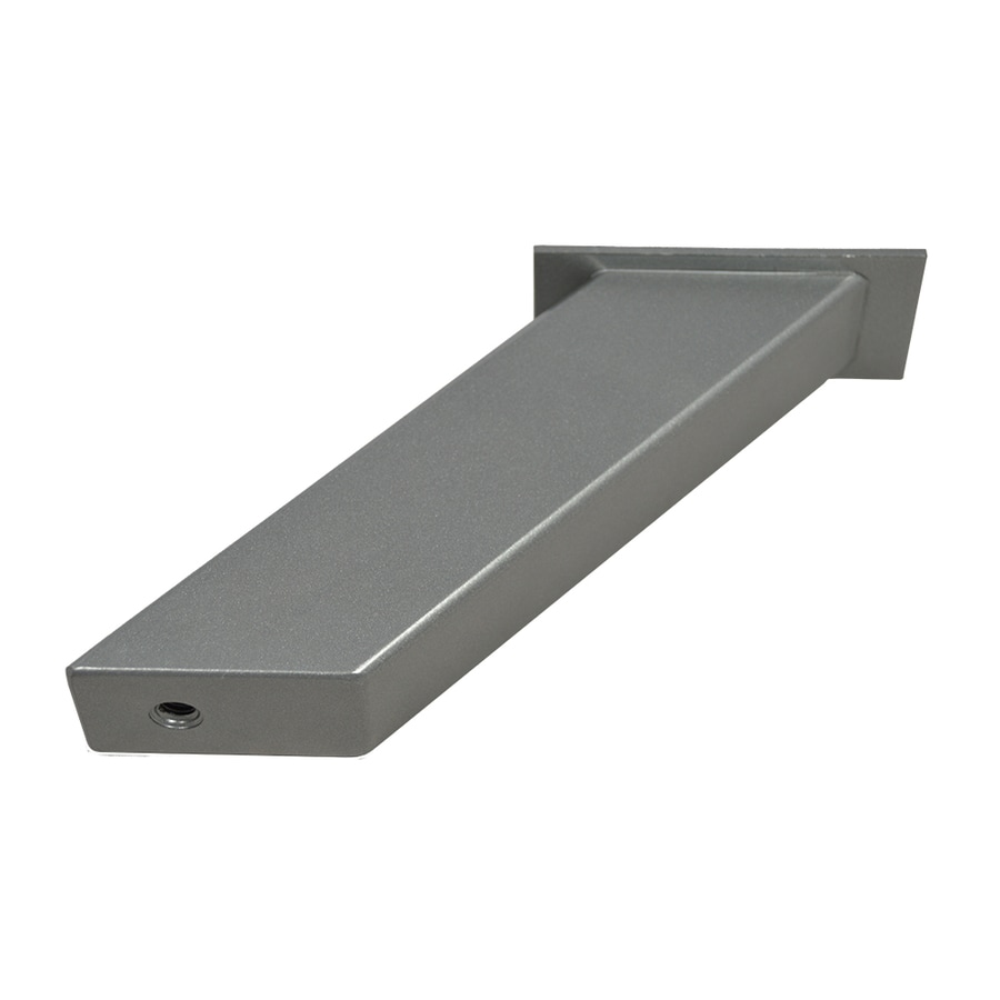 Federal Brace Noda 5-in x 2-in x 4-in Plain Steel Countertop Support Bracket
