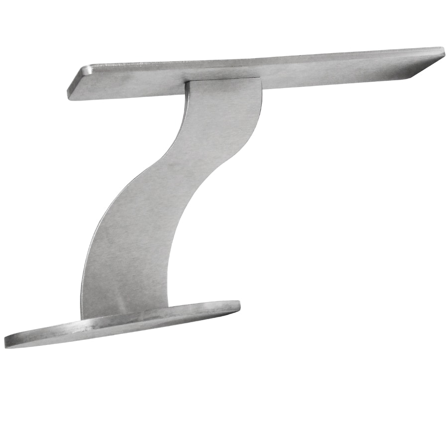 Federal Brace Oro 6-in x 4-in x 10-in Stainless Steel Countertop Support Bracket